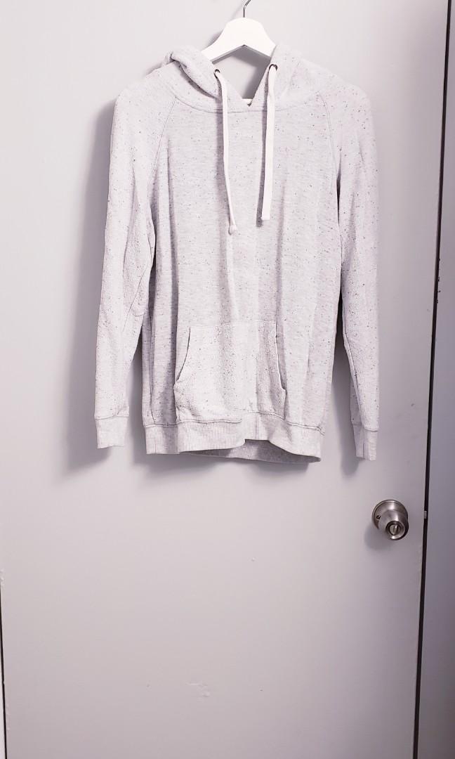 Brandy Melville Light Grey Hoodie