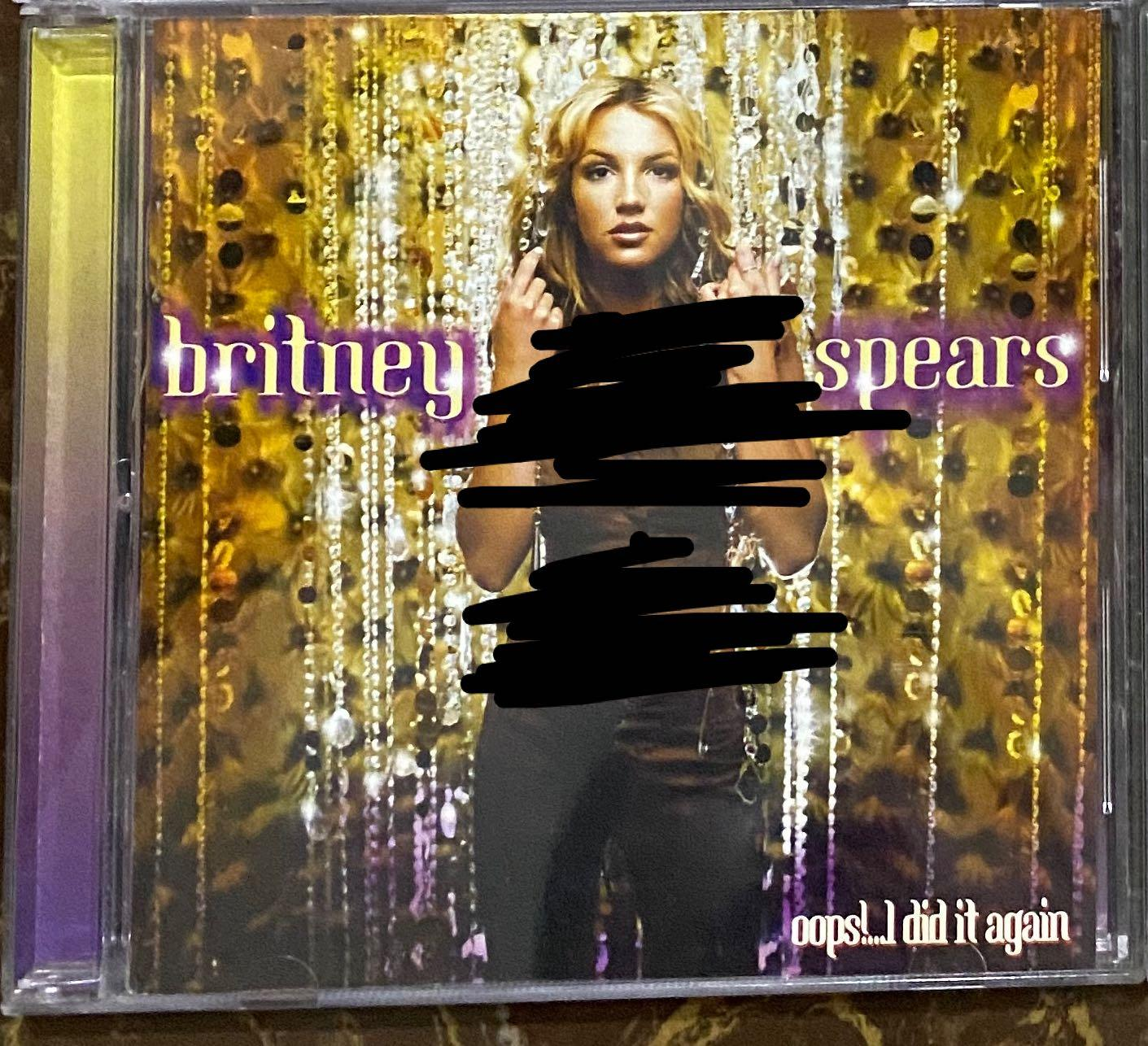 Britney Spears Oops I Did It Again Music Media Cd S Dvd S Other Media On Carousell