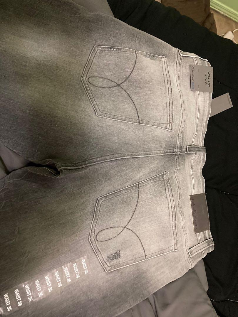 """Calvin Klein men's jean size 36"""" skinny"""