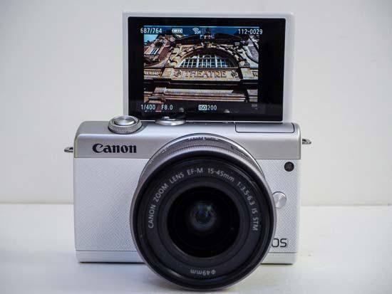Canon EOS M200 Kit 15-45mm Cicilan Tanpa CC