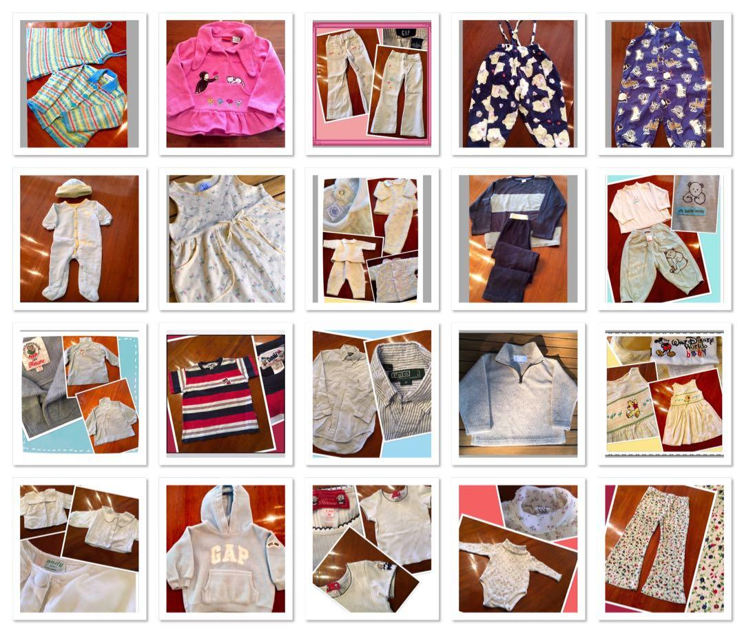 ***Children's clothing with several pieces from France***(PRICED SEPARATELY)