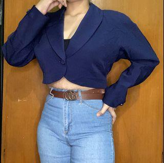 Crop Vintage Blazer / Coat