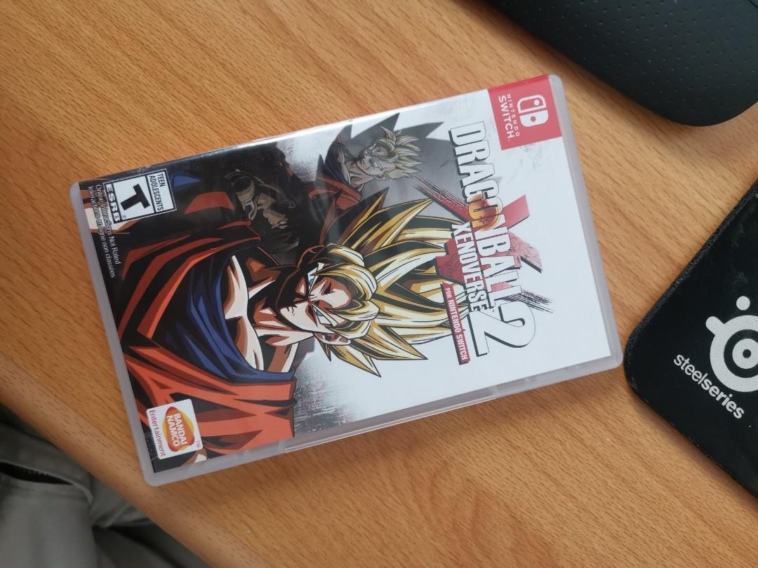 Dragon Ball Xenoverse 2 Nintendo Switch 2nd berkualitas