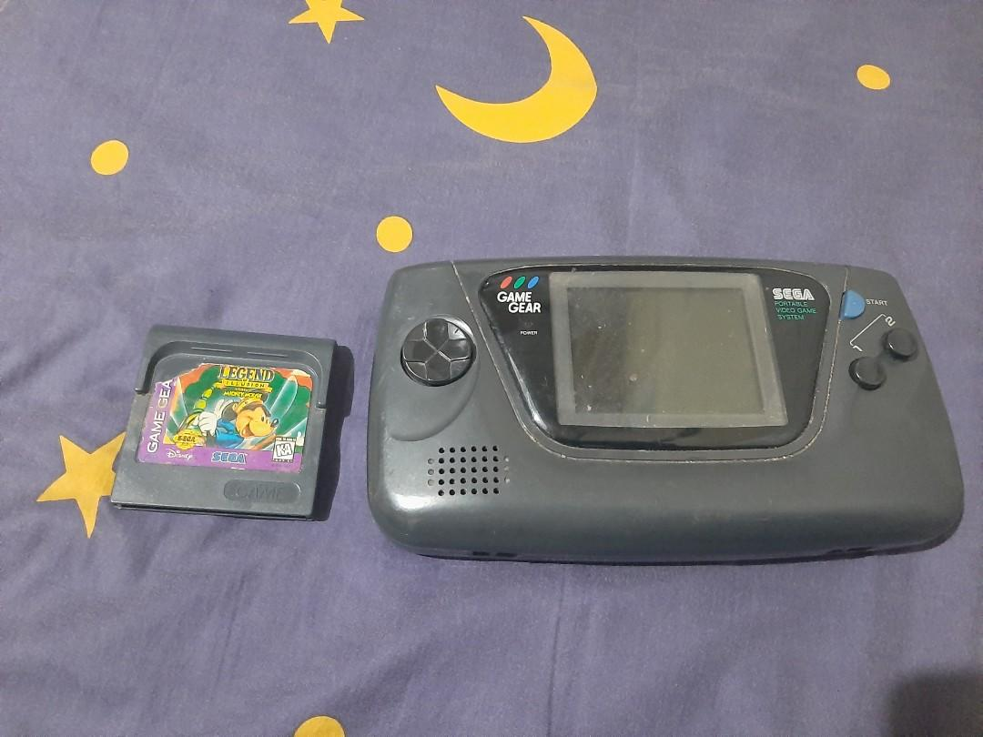 Game gear Sega vintage made in japan.