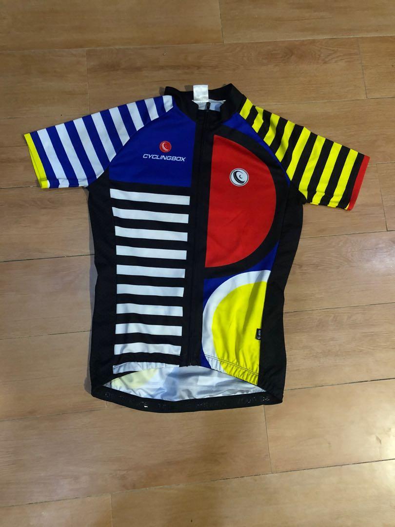 Jersey sepeda roadbike cycling box