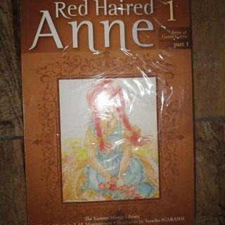 Komik red haired anne 1-5 tamat author candy candy