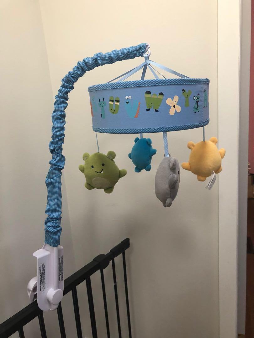 Lambs and ivy baby mobile