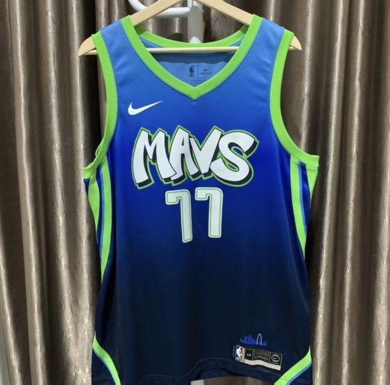 Luka Doncic Dallas Mavericks Mavs Jersey Swingman NBA Basketball Nike Original Authentic 100% Kaos Baju Basket Asli Baru New Super Rare Sangat Langka Size L