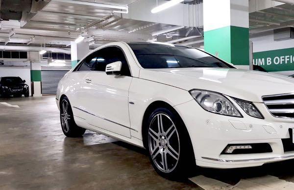 Mercedes-Benz E250 CDI Coupe Auto