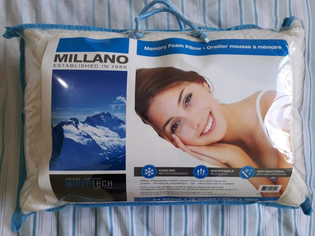 Millano Memory Foam Pillow (2 available)