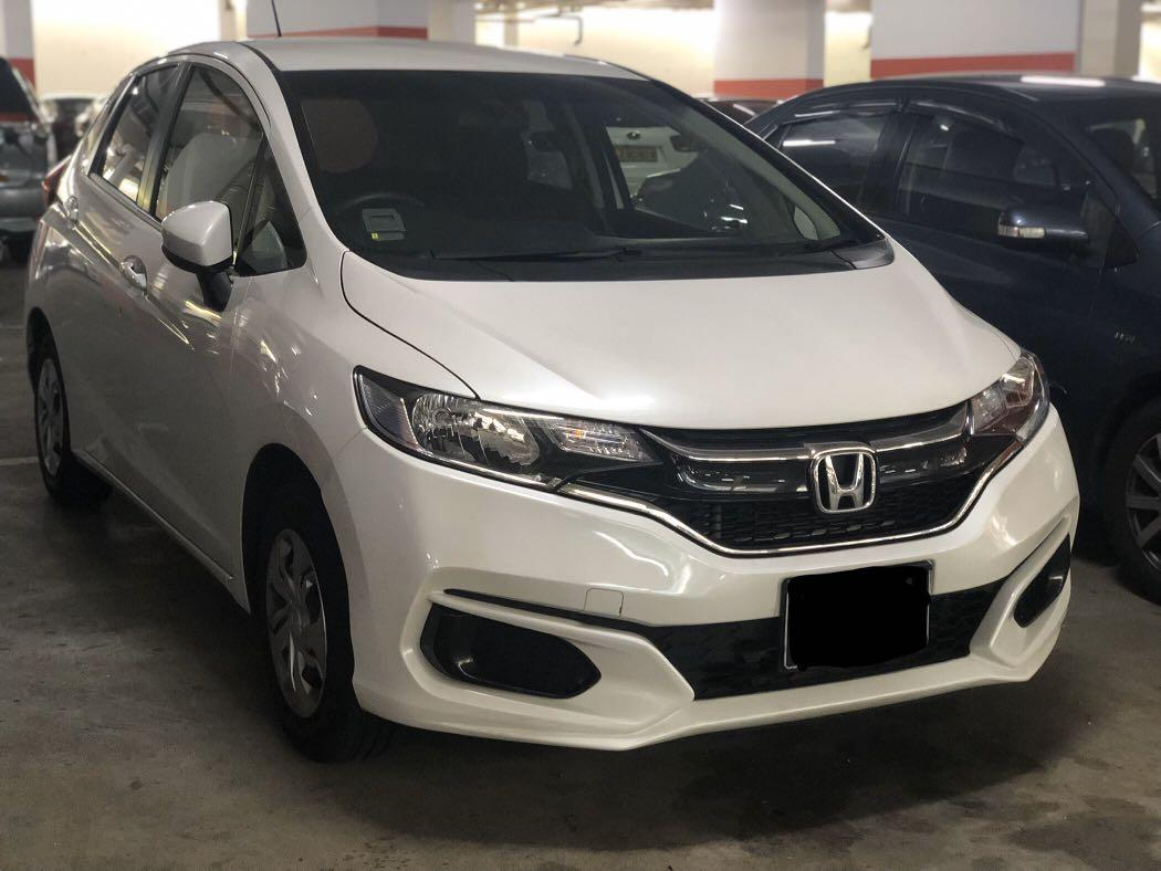 NEW HONDA FIT P PLATE WELCOME