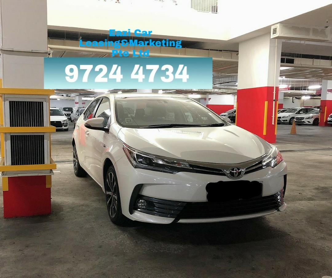 NEW TOYOTA ALTIS STANDARD AND ELEGANCE