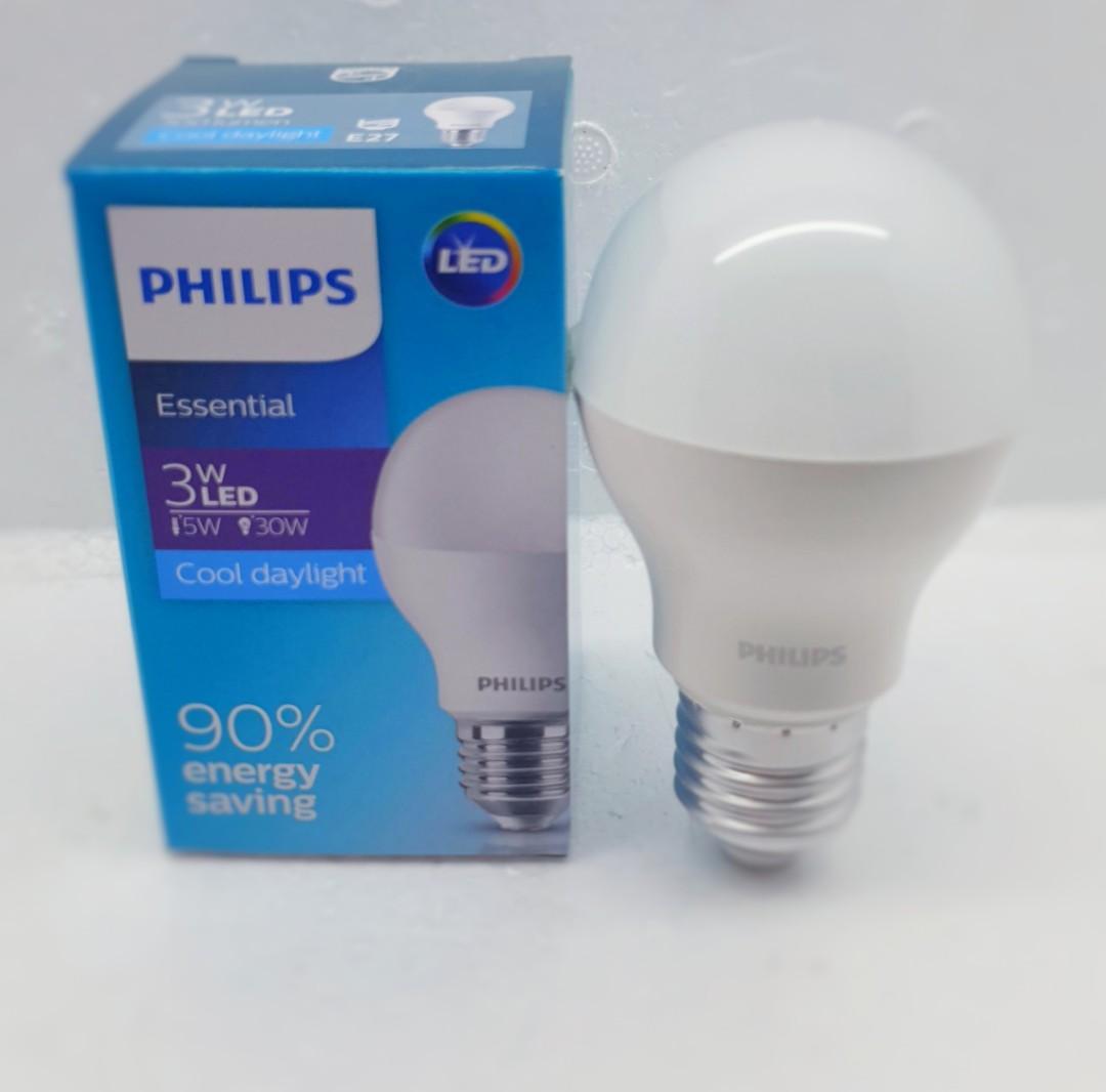 PHILIPS LED ESSENTIAL 3 WATT (6500K) COOLDAYLIGHT
