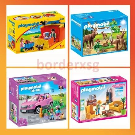 Playmobil 9123 1 2 3 Take Along Market Stall 6817 Country Forester S Stag Playset With Deer Family 9404 Family Car With Parking Space 5308 Living Room With Fireplace Doll House Toys Games Others On Carousell