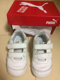 Puma波鞋白色小童男女N班返學鞋運動鞋