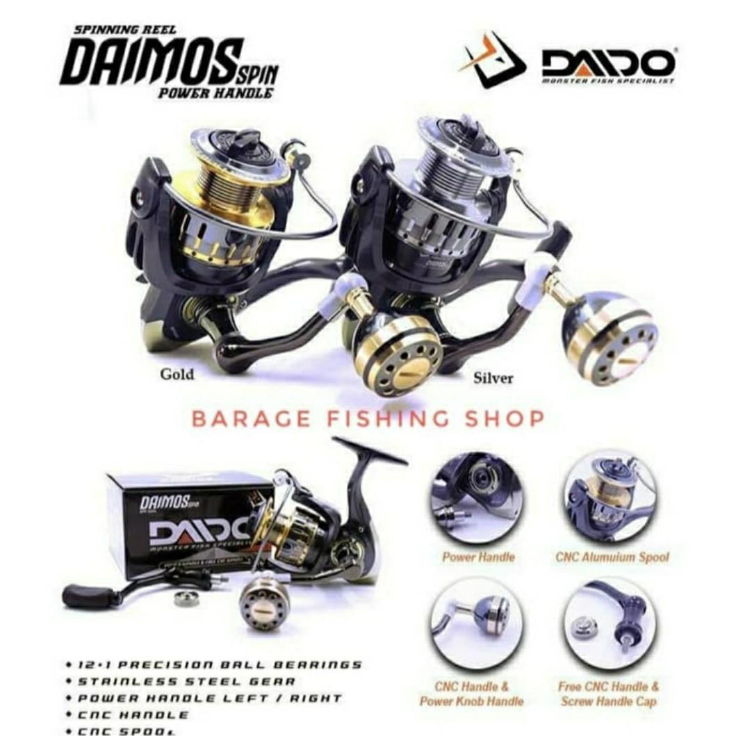 Reel Daido Daimos Pro series 4000 Power handle