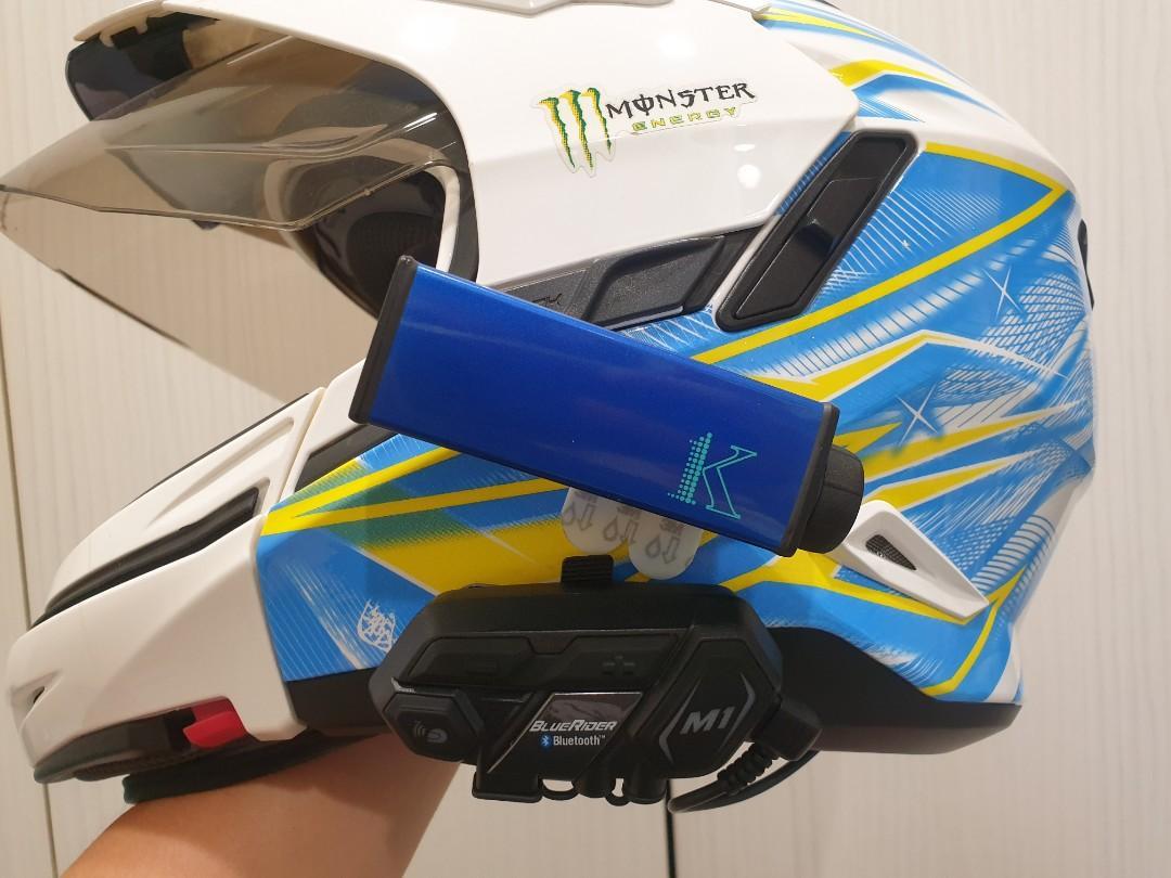 隆盈科技遊騎兵S100-K1夜視超強行車記錄器 + 鼎騰科技 BlueRider M1 EVO藍芽通訊系統