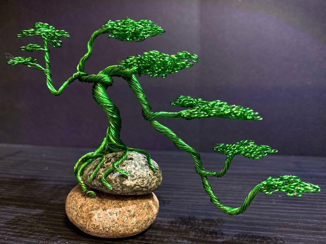 Semi Cascade Wire bonsai