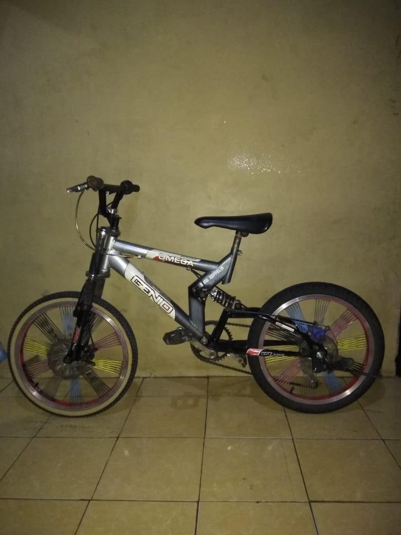 Sepeda BMX double disc speed 6 #barangnumpuk