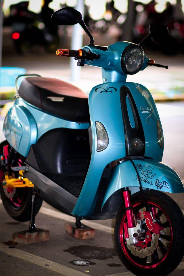 Sepeda listrik lucky