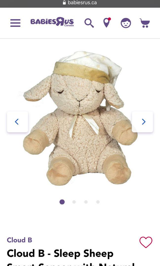 Sleep Sheep w/ sensor soothing sounds