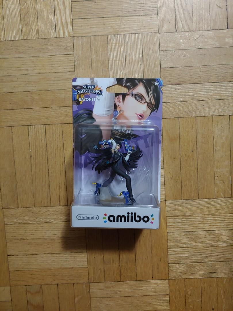 Super Smash Brothers Bayonetta Amiibo