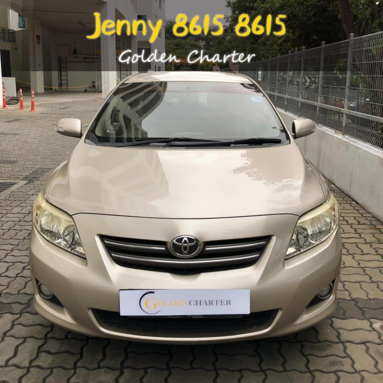 Toyota Altis 1.6a for PHV no GST no Hidden Cost delivery parcel gofleet incentive grab personal use!!