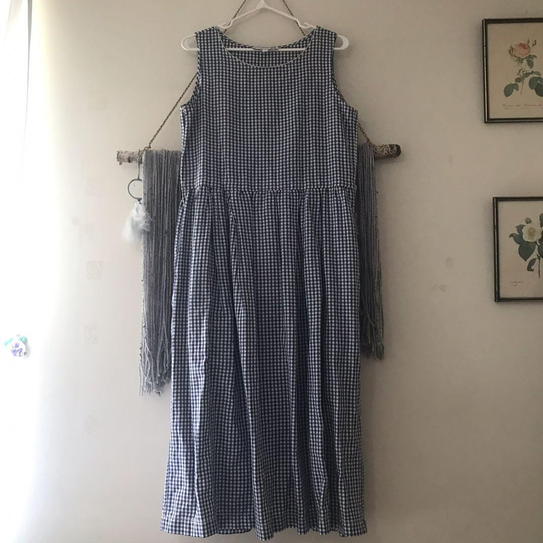Uniqlo Gingham Dress