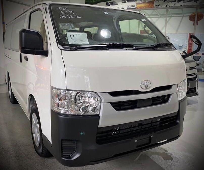 Unregistered Brand New 2020 Facelift Toyota Hiace 5DR Auto (Parallel Import Made In Japan Model)