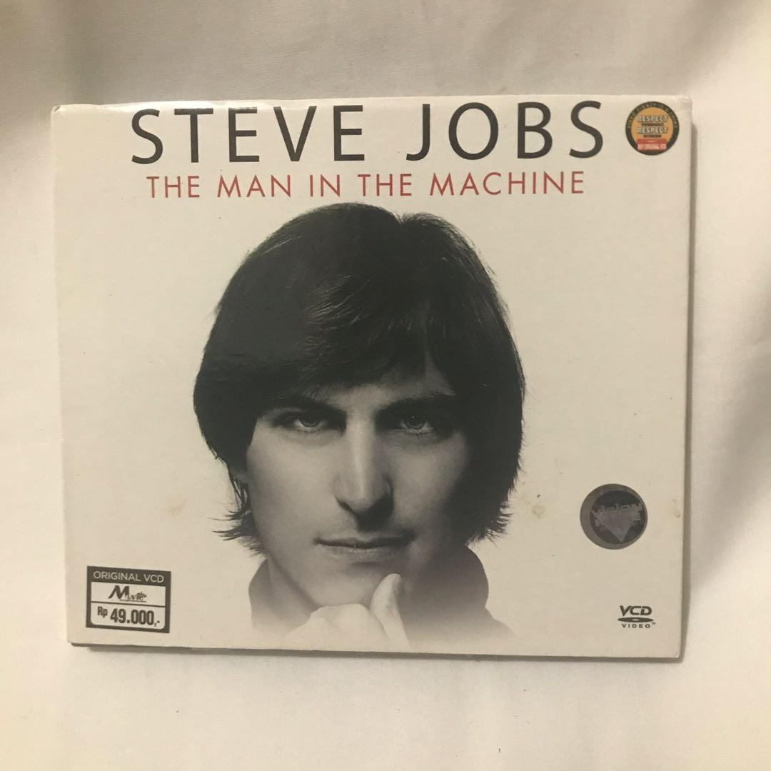 VCD Original Steve Jobs The Man in the Machine