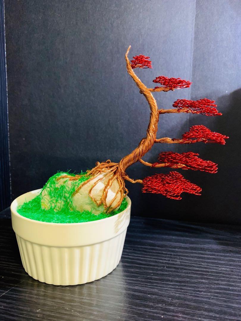 Windswept copper Bonsai