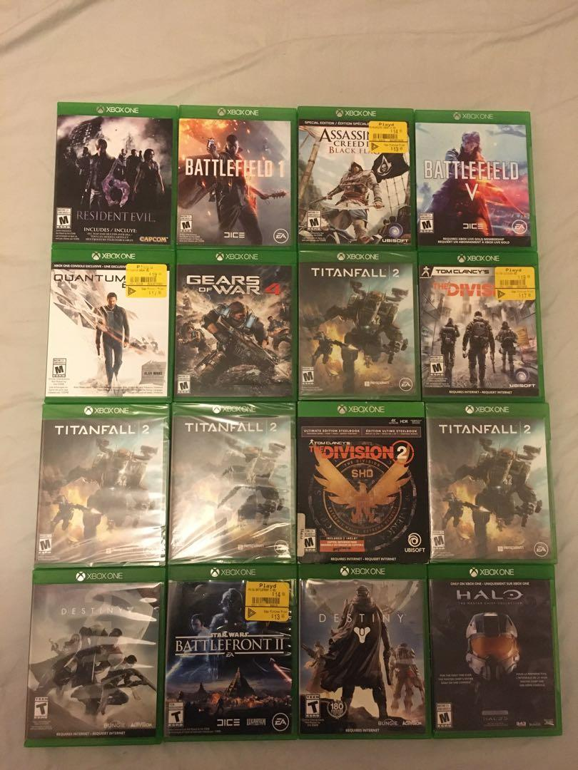 Xbox one games for sale!!!
