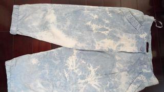 100%棉台製七分褲