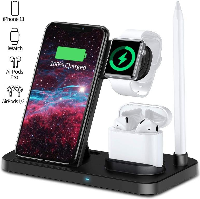 3 in 1 Fast Wireless Charging Station
