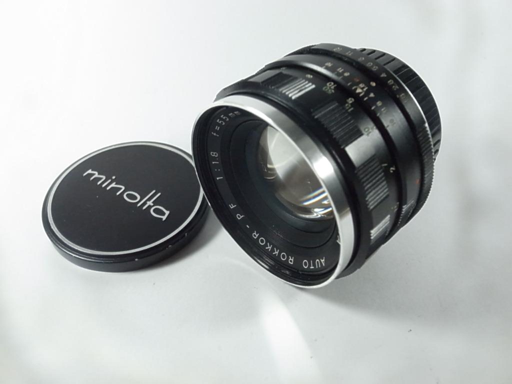 [一直攝] Minolta Auto Rokkor-PF 55mm F1.8 鏡頭