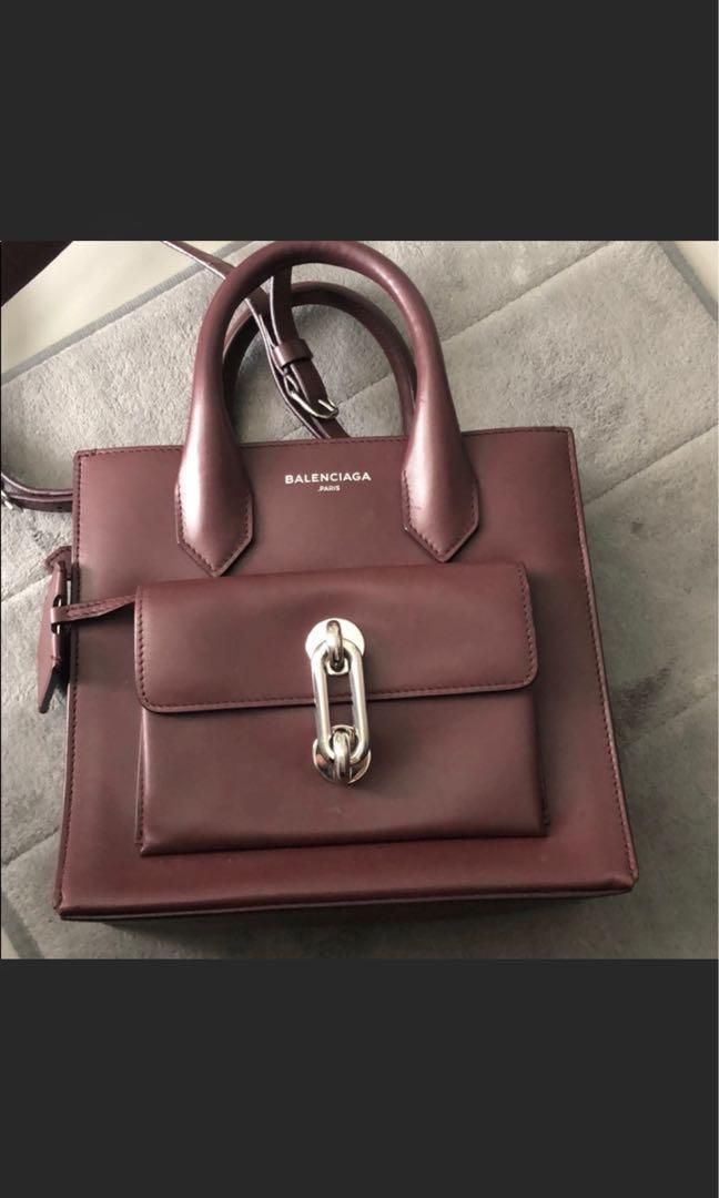 Authentic Balenciaga Mini Tote/side Bag