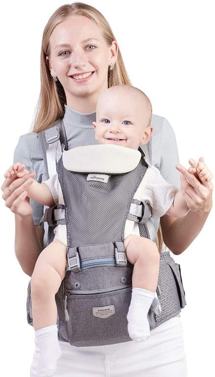 Baby Carrier With Breathable Seat 0-36 Months