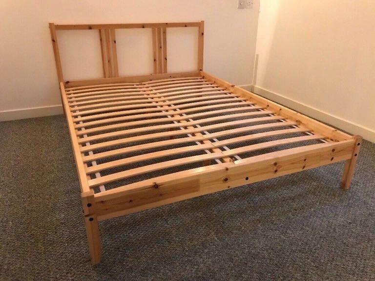 مرآة المتبقي فتيل Ikea Queen Frame, Ikea Hemnes Queen Bed Frame Review