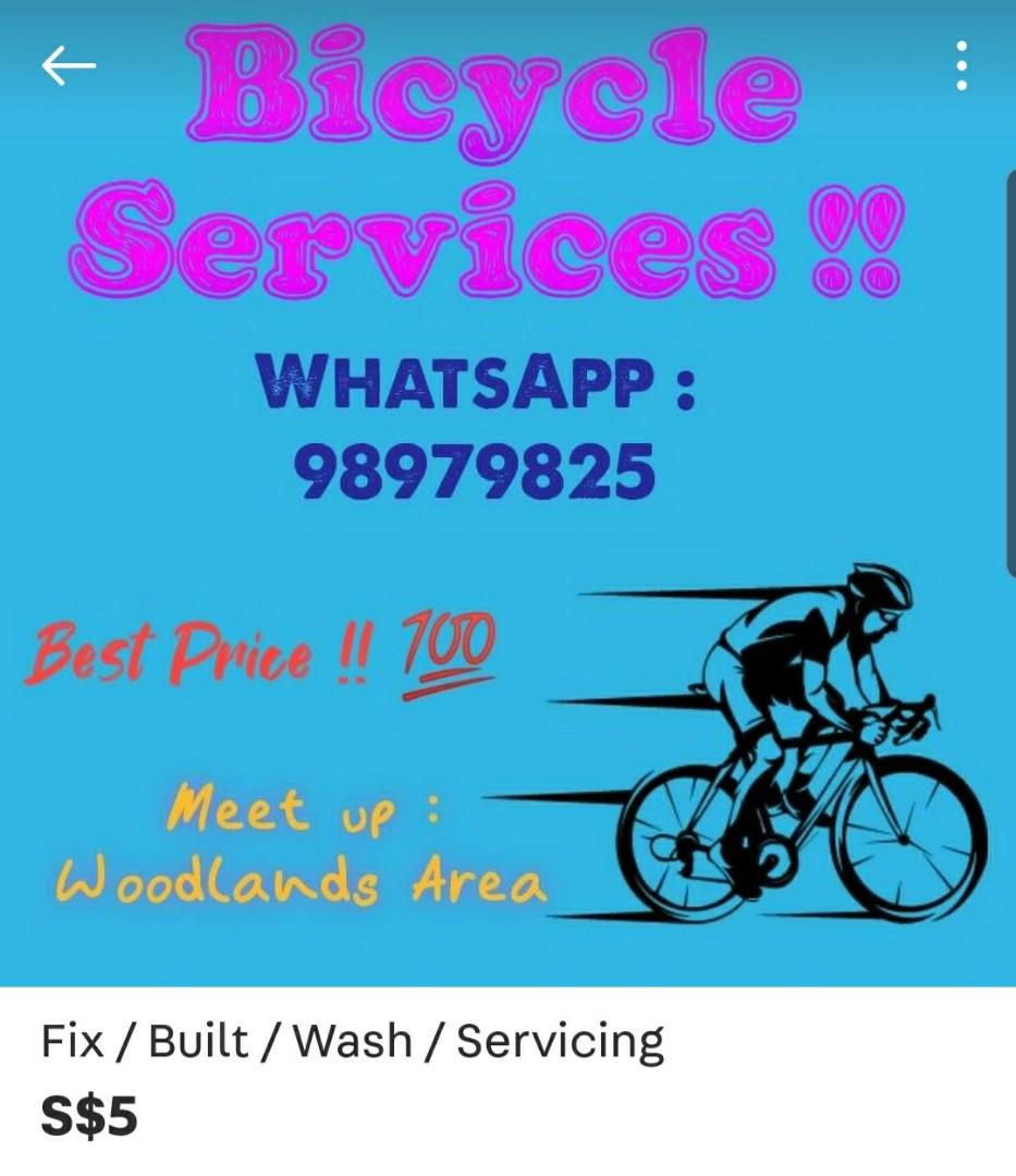 BEWARE OF THIS BICYCLE SERVICE..RIP OFF!!!