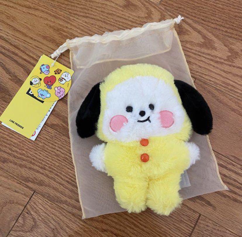 BNWT Official BT21 Baby Chimmy Flat Fur Mini Doll (20CM)