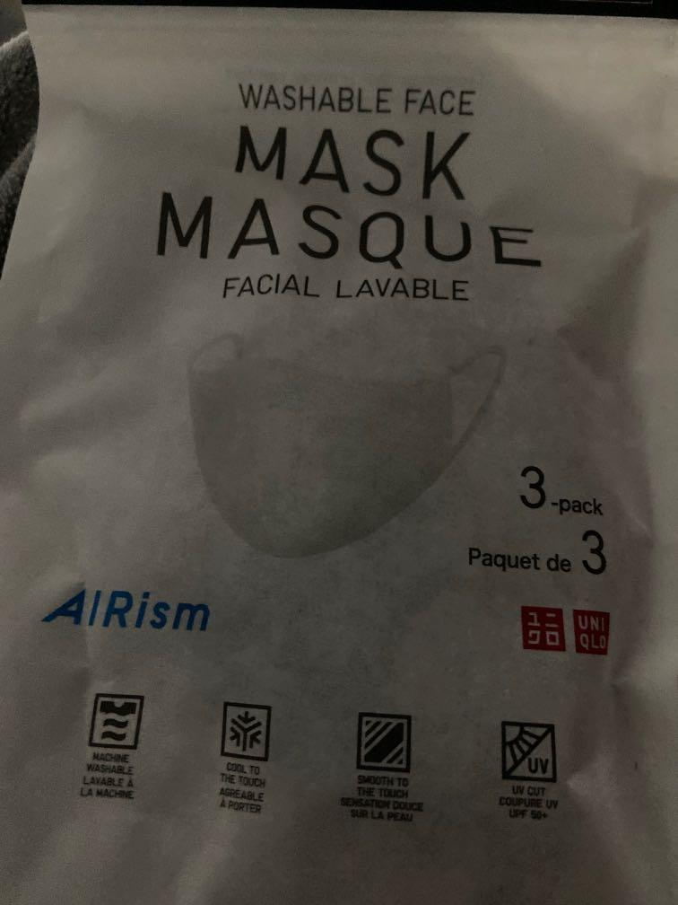 Brand New ~ Washable Mask Airism