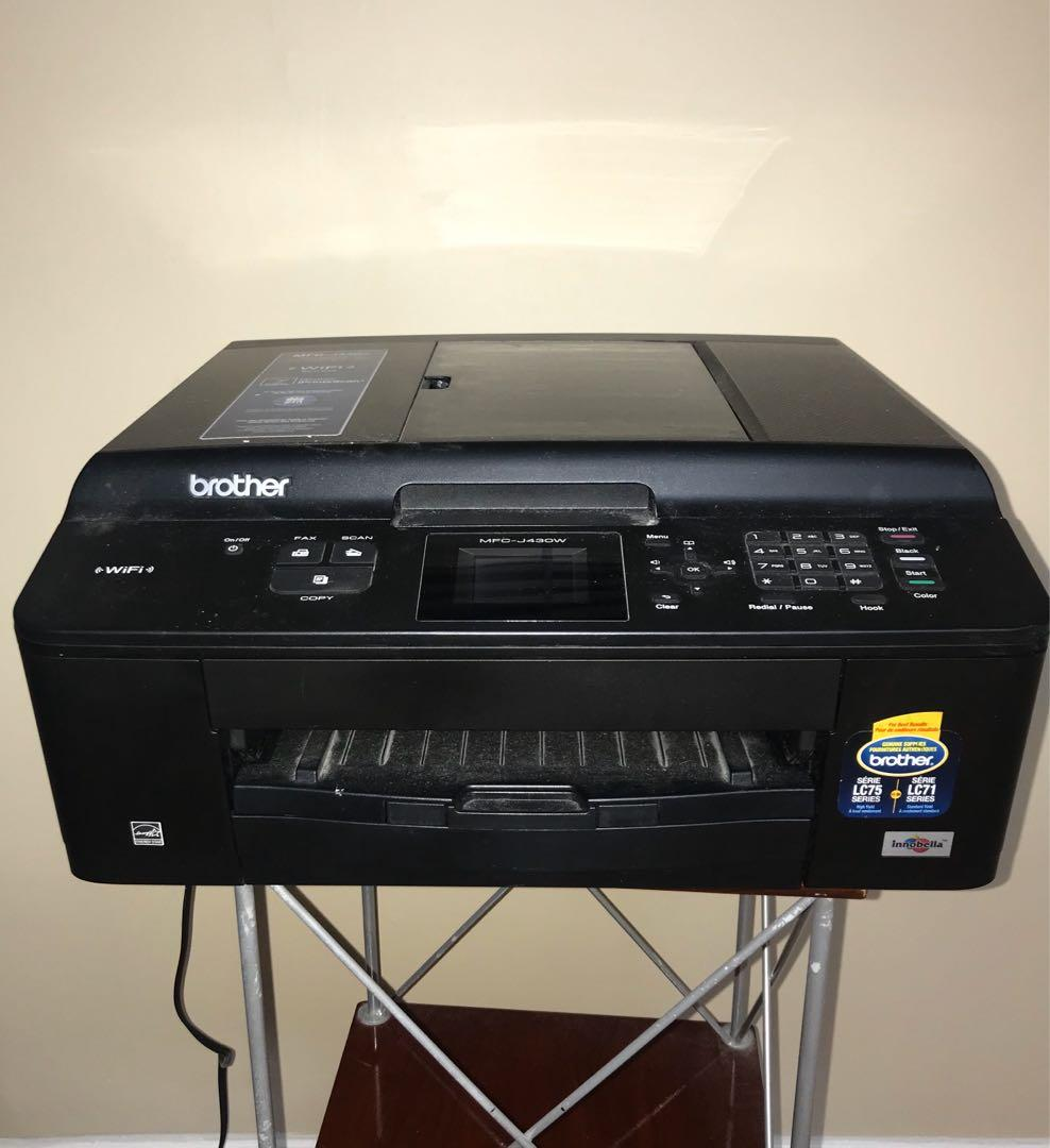 Brother MFC-J430w Wireless All-in-One Colour Inkjet Printer