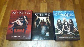 DVD tv serials NIKITA (1st & 4th)/ Pretty Little Liars (1st season)