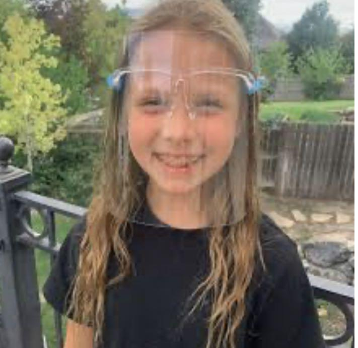 Face shields for kids and adults