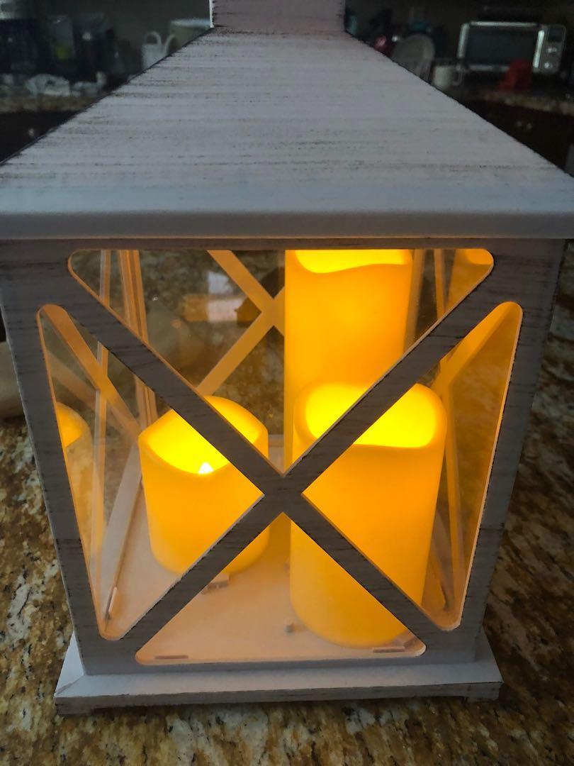Fake candle holder