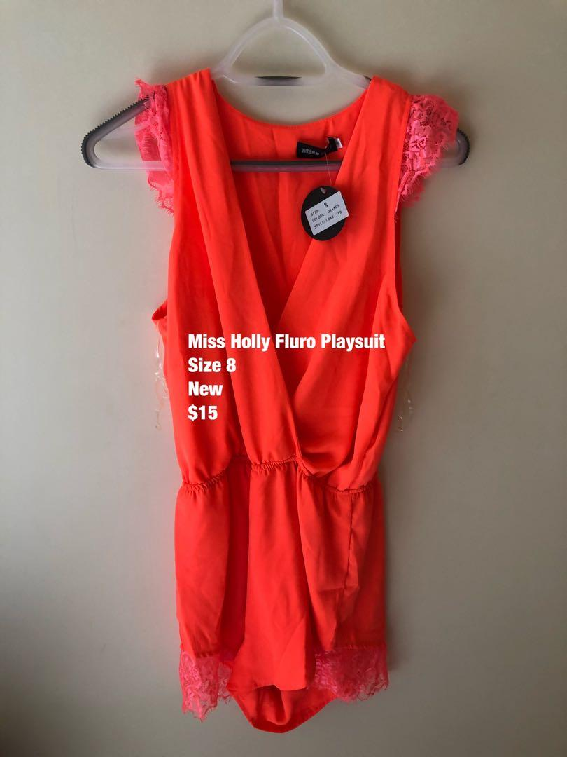 Fluro Playsuit