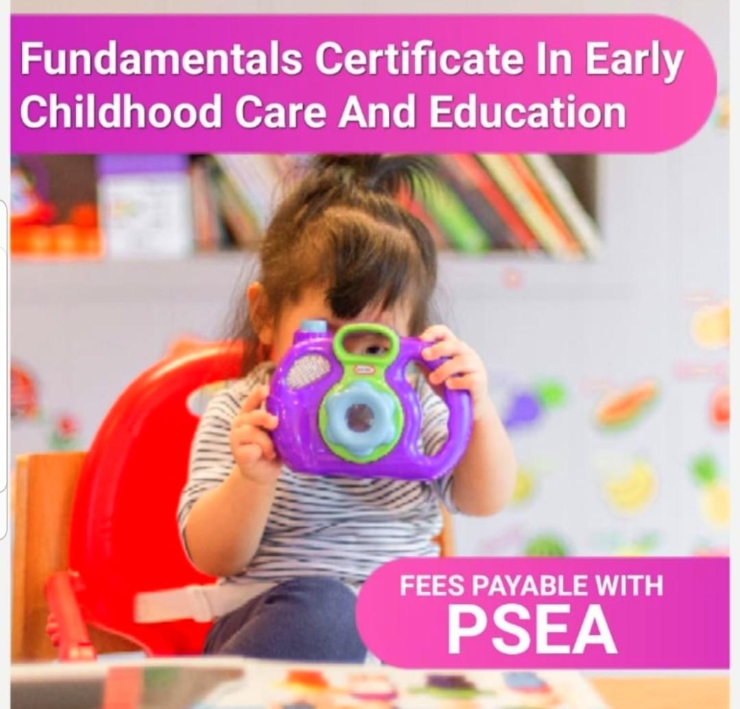 Fundamentals Certificate In Early Childhood Care & Education