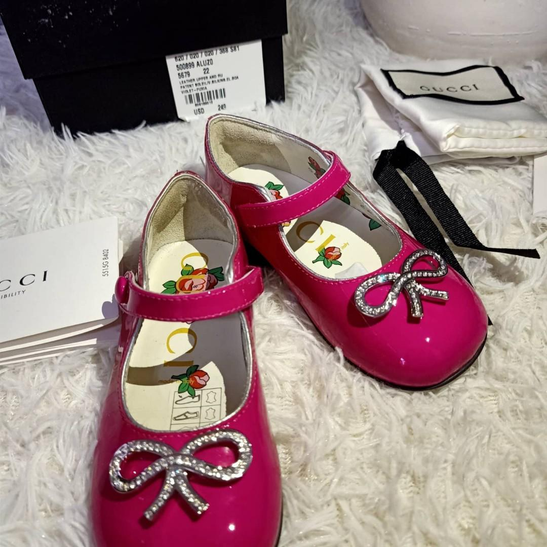 gucci baby girl shoes