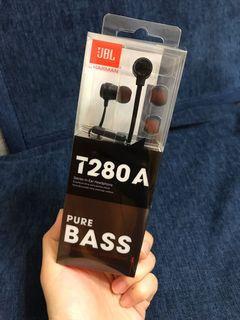 JBL T280A 高性能耳道式耳機