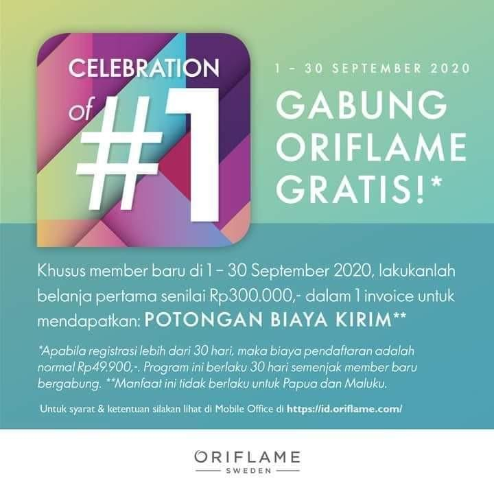 Join Oriflame GRATIS